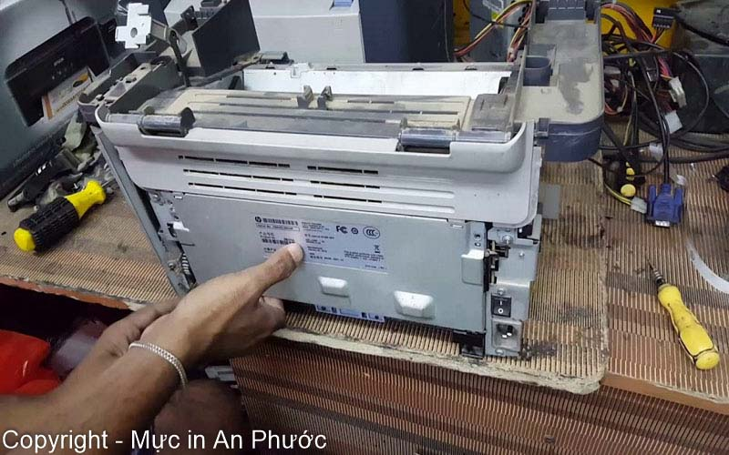 công ty sửa máy in tại quận Bình Thạnh uy tín