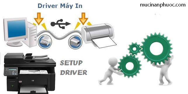 Cài đặt mới hoặc nâng cấp driver máy in