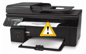 Máy in HP báo lỗi chấm than vàng model 1010, 1320, 2035, 2015